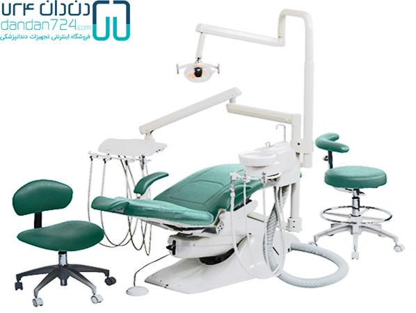 تجهیزات دندئانپزشکی دست دوم یونیت دندان پزشکی دندان724 DANDAN724