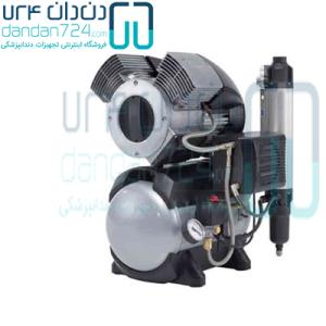 کمپرسور دو یونیت دور دنتال Durr Dental با درایر مدل T2 Dry
