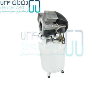 کمپرسور دو تا سه یونیت دوردنتال Durr Dental با مخزن ایرانی مدل T2